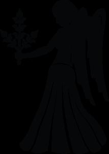 potisk trička se znamením zvěrokruhu Panna