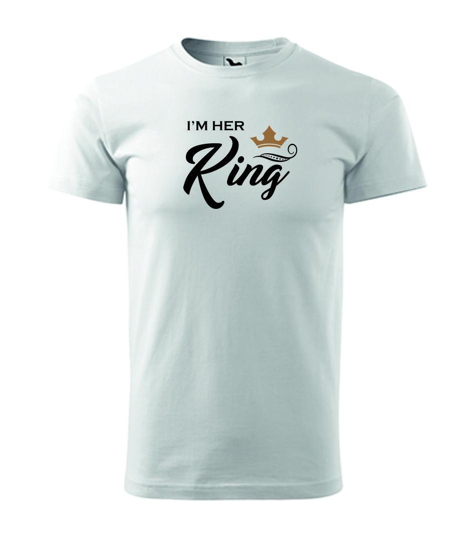 PÁNSKÉ tričko HER KING
