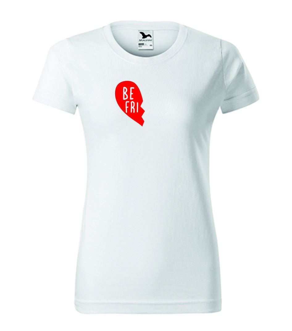 Dívčí bílé tričko nejlepší kamarádky