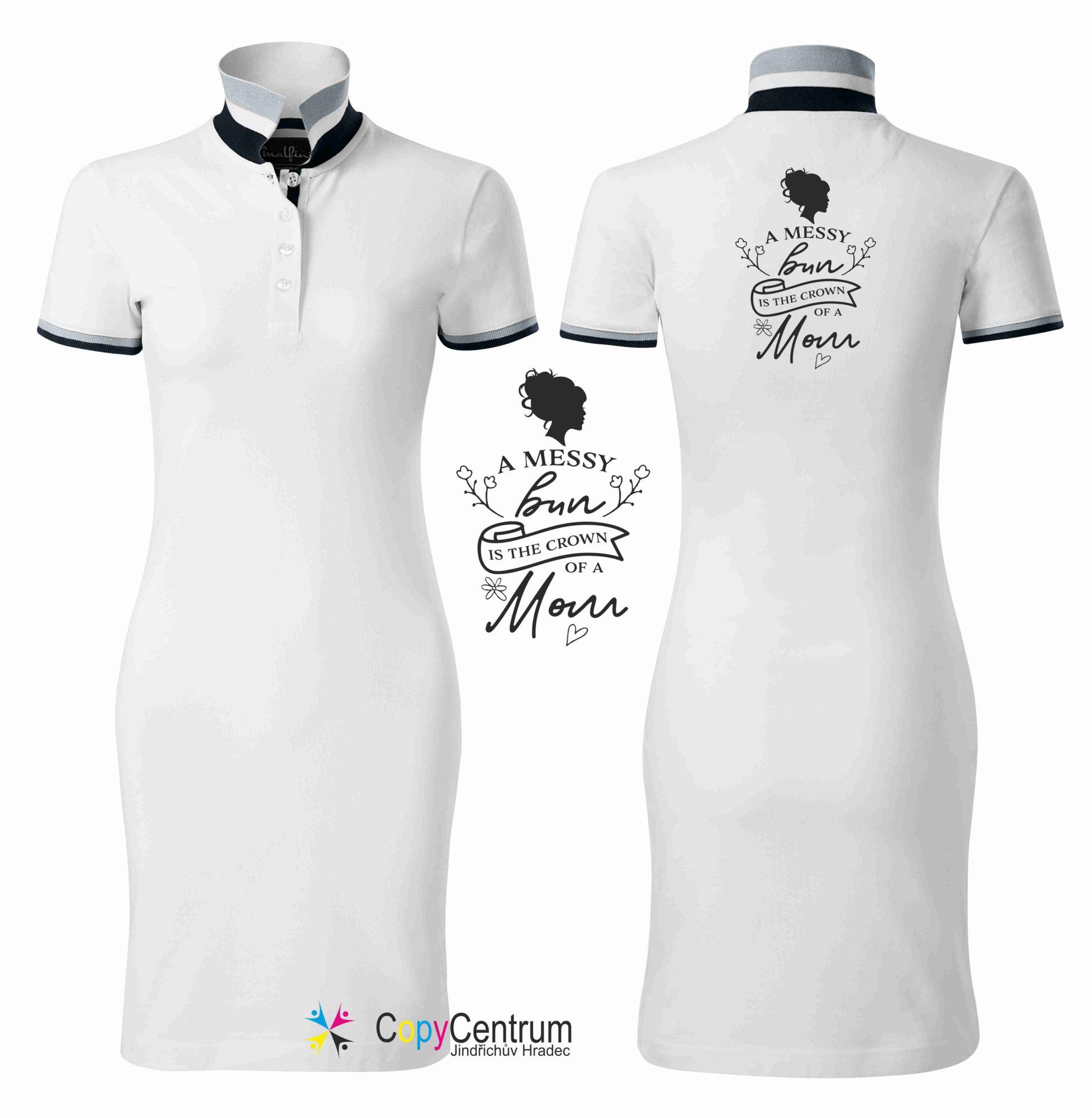 luxusní dámské šaty bílé