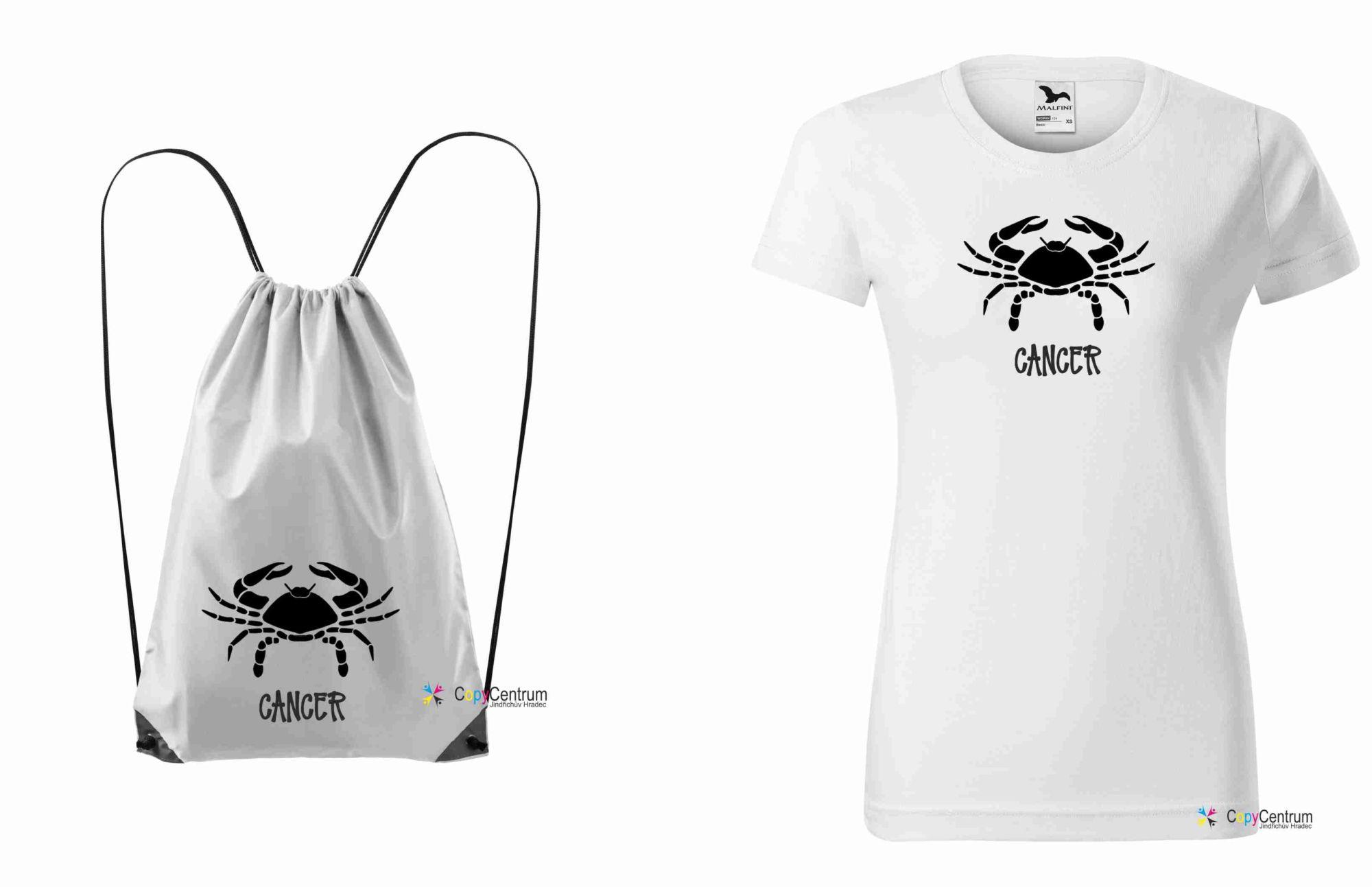Dámský set vak + tričko RAK