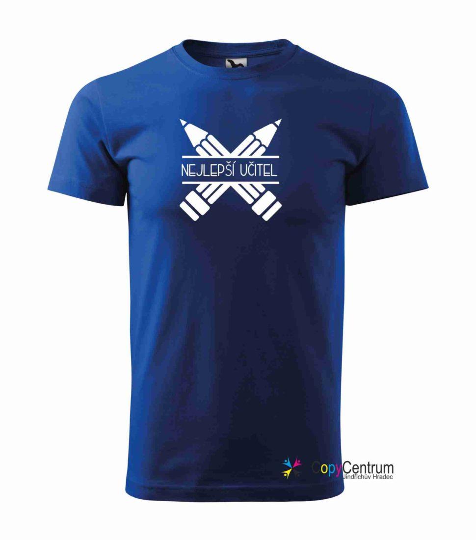 Učitelské tričko modré
