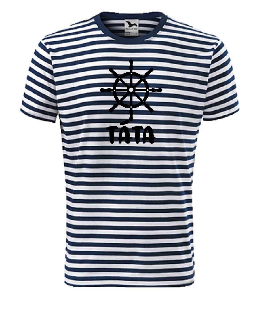 pánské tričko námořnické