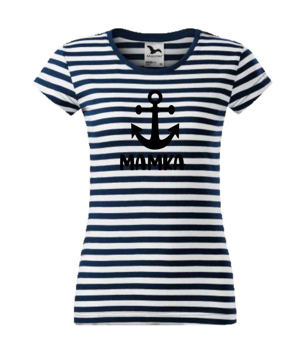 dámské tričko námořnické